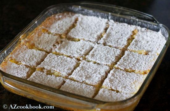 Limonlu Dördbucaqlar - AZ Cookbook - Dadlı yemək reseptləri bloqu