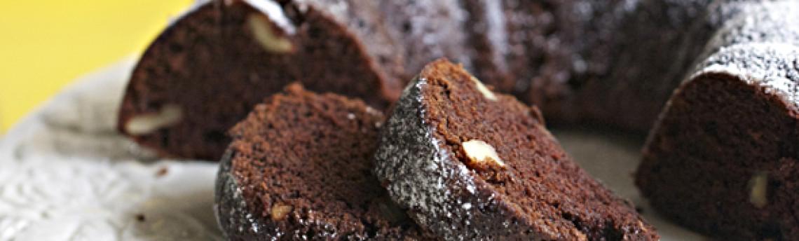 Şokoladlı Çələng Keksi