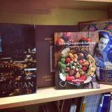 AZCookbook | Pomegranates and Saffron in Baku bookstore shelves - Kitabım Əli və Nino Mağazalarında