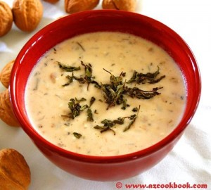 AZ Cookbook | Creamy Yogurt Soup