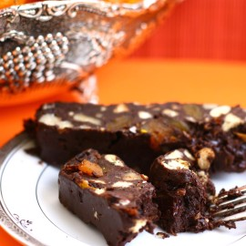 Zesty Fiesta Chocolate Fridge Cake
