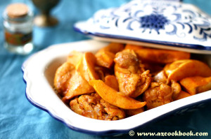 saffron-chicken-with-quince