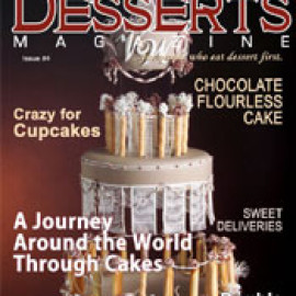 Desserts Magazine - Zebra Cake: Revisited