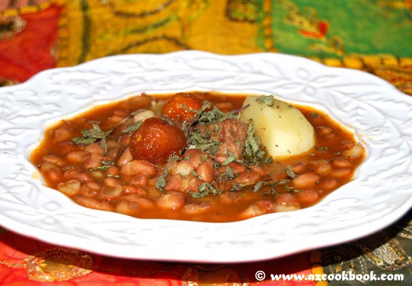 Dried Bean Stew (Mash Shorbasi)