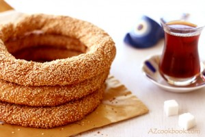 Turkish Sesame Ring - Simit