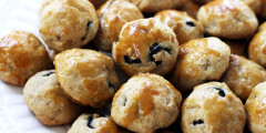 Olive Walnut Mini Breads