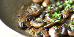 Sautéed Mushrooms – Not your usual kind