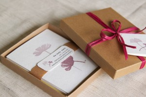 The Lovely Stains Wine-Painted Cards