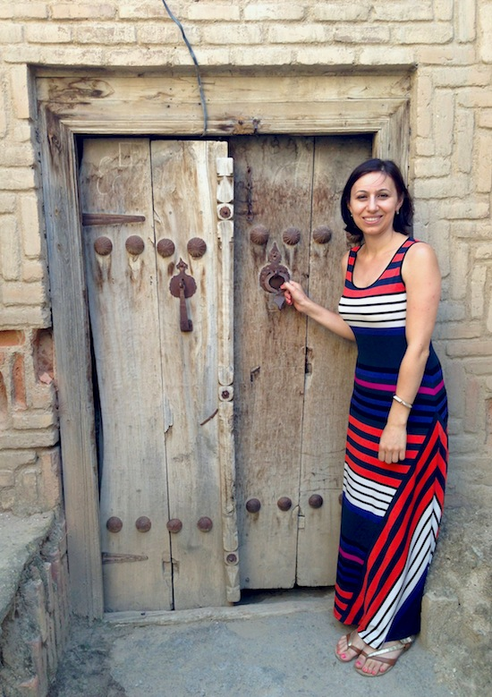 Old Door in Ordubad