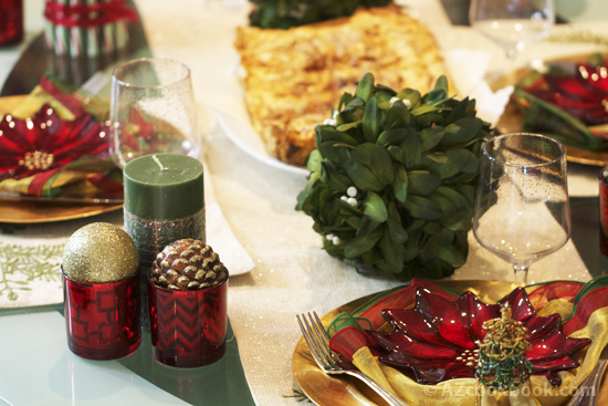 Holiday Season Tablescape