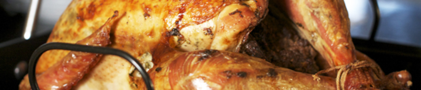 Walnut-Stuffed Roast Turkey a.k.a Turkey Levengi