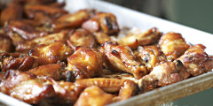 Elle's Teriyaki Chicken Wings