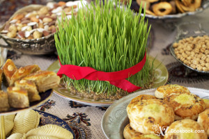 Sprouted Wheat, Semeni, for Novruz