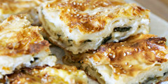 Soft Spinach Pie (Ispanakli Borek)