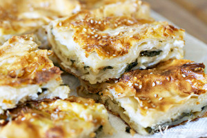 Soft Spinach Pie (Borek)