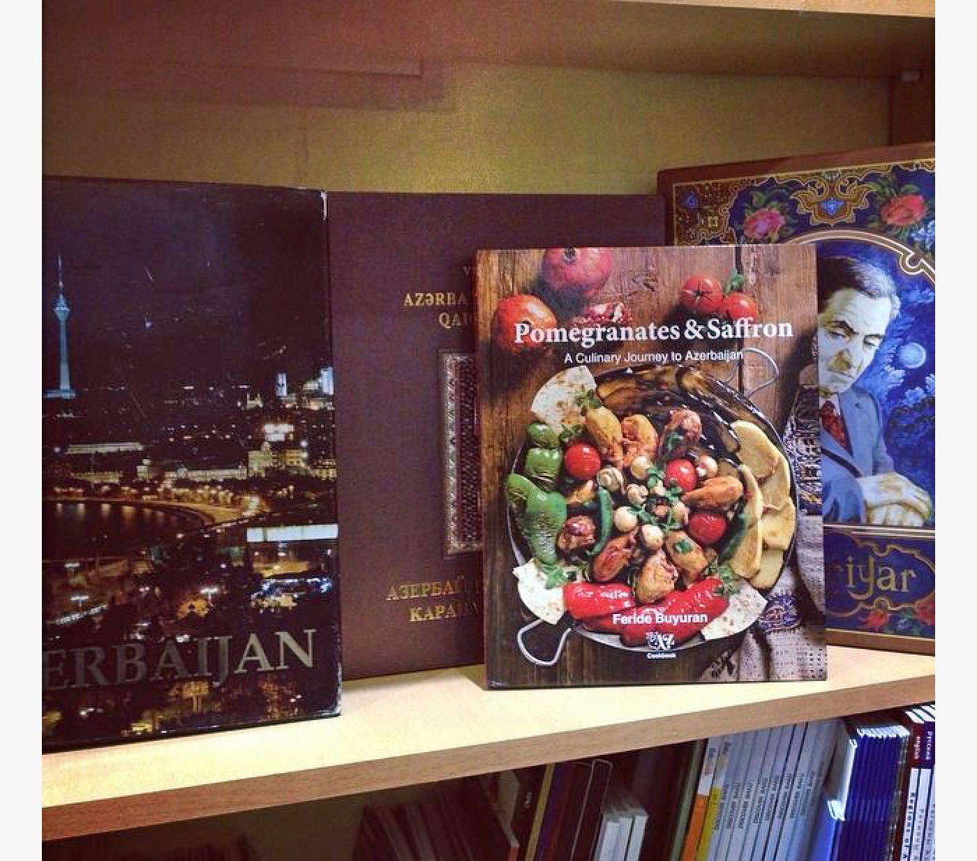 """Pomegranates and Saffron"" in Bookstores"