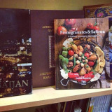 "AZ Cookbook | ""Pomegranates and Saffron"" in Bookstores"