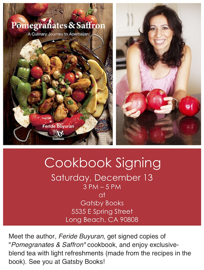 Cookbook Signing