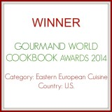 My Cookbook Won!