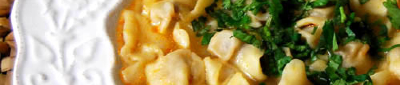 Dumpling Soup (Dushbere)