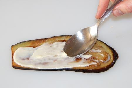 AZ Cookbook | Eggplant Rolls Add Mayonnaise