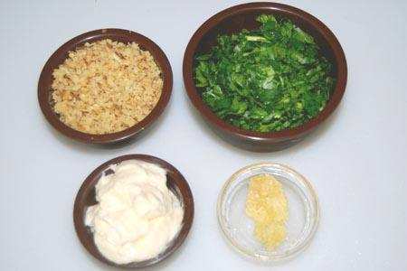 AZ Cookbook | Eggplant Rolls Ingredients