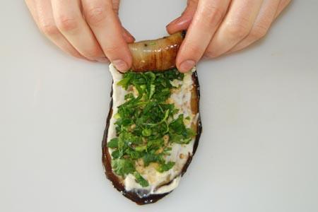 AZ Cookbook | Eggplant Rolls Rolling