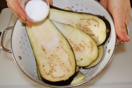 AZ Cookbook | Eggplant Rolls Salting