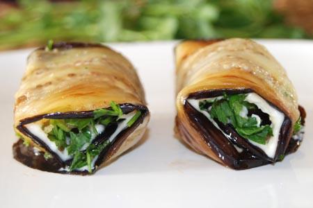 AZ Cookbook | Eggplant Rolls