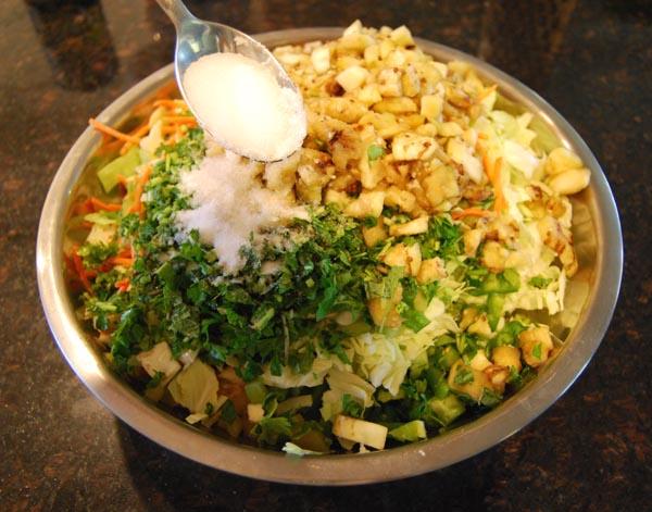 AZ Cookbook | Pickled Mixed Vegetable - Salt and Vegetables