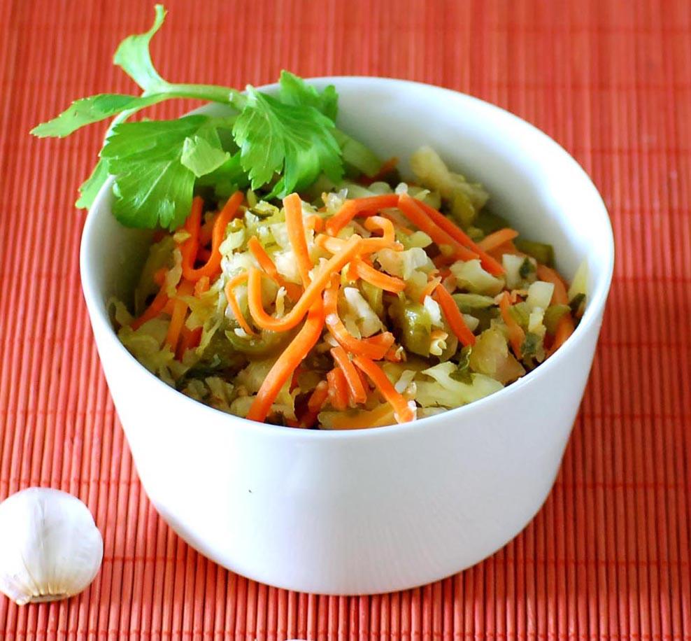 AZ Cookbook | Pickled Mixed Vegetable