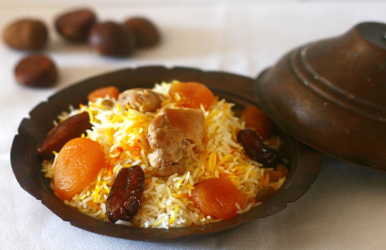 layered-saffron-rice