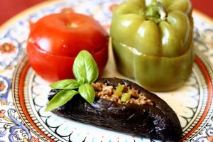 stuffed-eggplants-peppers-and-tomatoes3