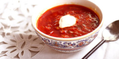 Red as Red Can Be - Borsch