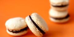 Ganache Mousse Macaron Sandwich Cookies