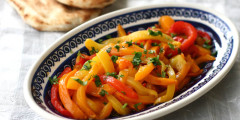 Tri-Color Bell Pepper Salad