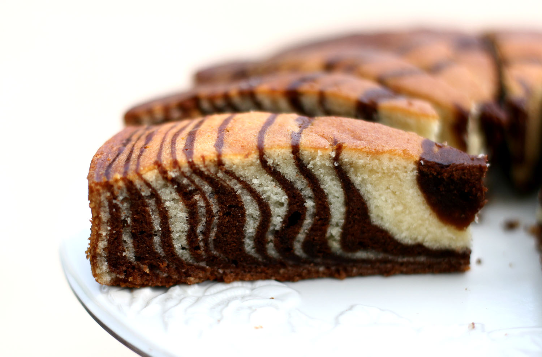 Zebra Cake Recipe — Dishmaps
