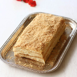 Cake Napoleon - Step by Step