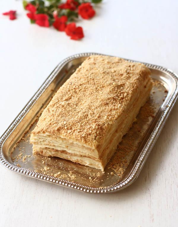 Russian Napoleon Cake