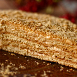 Honey Cake (Medovik) - Step by Step