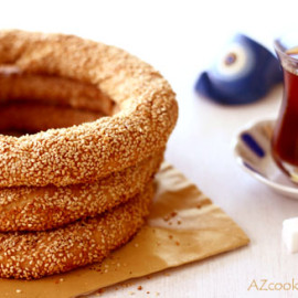 Turkish Sesame Ring (Simit)