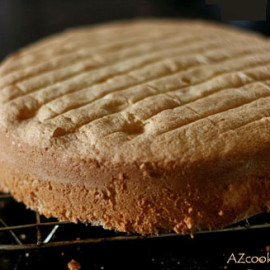 A Perfect Classic Sponge Cake