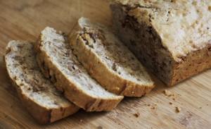 spiced banana walnut bread