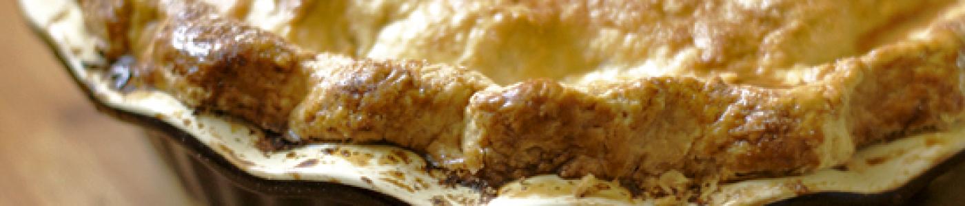 Pie Crust (Pâte Brisée) - Step by Step