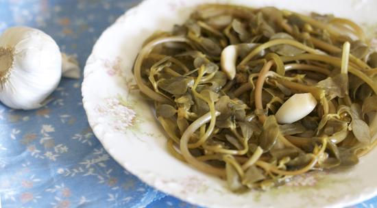Pickled Purslane
