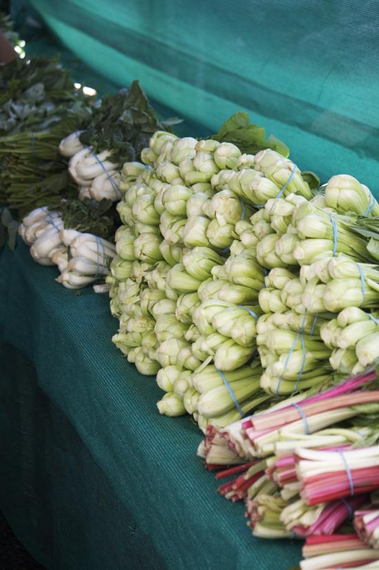 Bok Choy at Larchmont Farmers Market