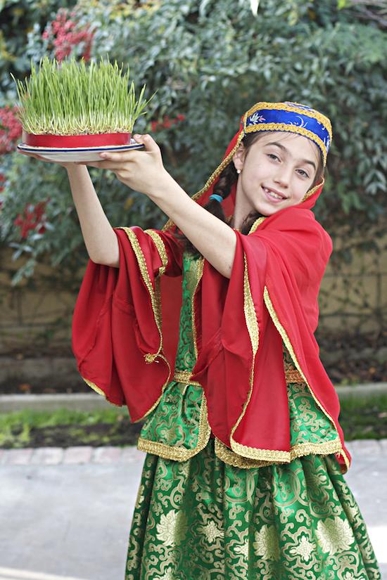 """Meltem Buyuran with """"Semeni"""" - Symbol of Spring"""