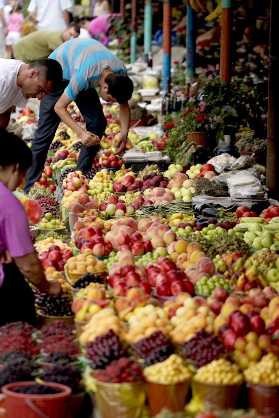 Market in Gabala