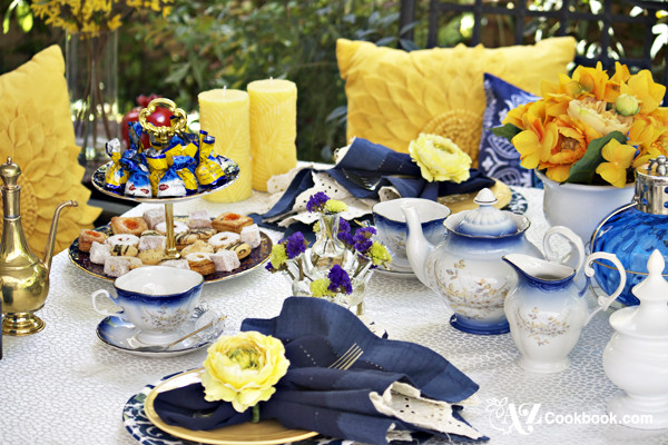 Tea Party Tablescape + Some Exciting News!