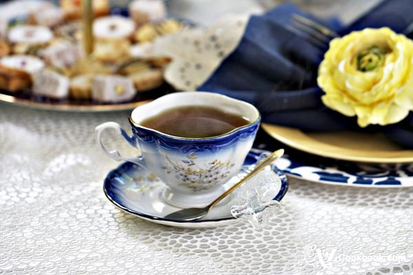 AZ Cookbook Tablescapes - Tea Party